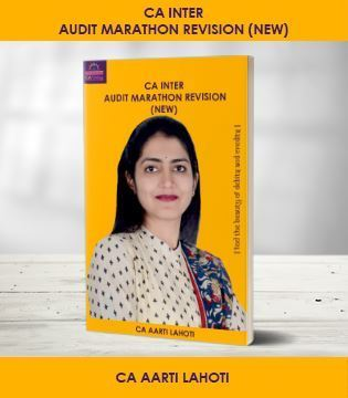 Picture of Inter Audit Marathon Revision New Syllabus
