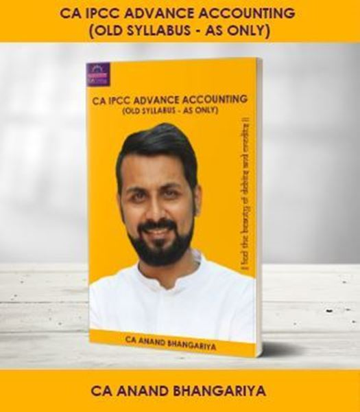 Picture of CA IPCC Advance Accounts AS Only Old Syllabus