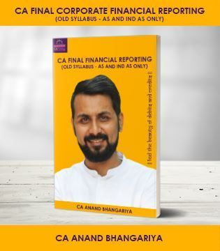 Picture of CA Final Financial Reporting AS and IND AS Old Syllabus