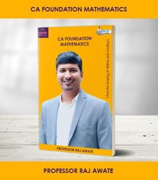 Picture of CA Foundation Maths by Raj Awte