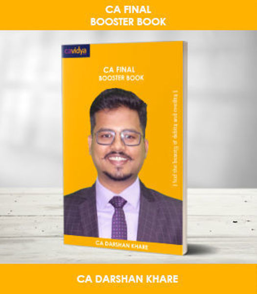 Picture of CA Final Booster Book (Darshan Khare)