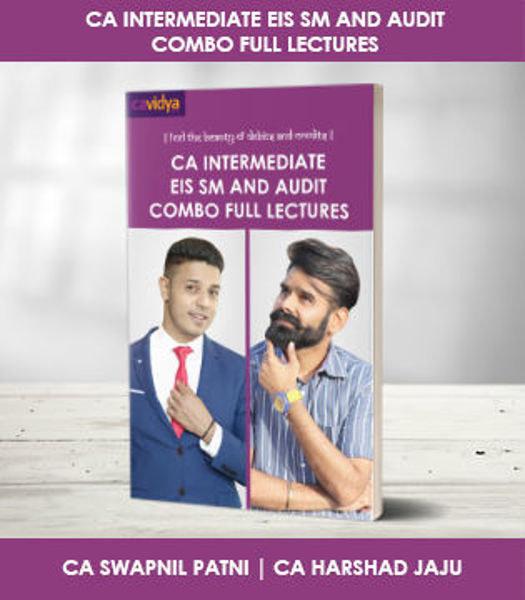 Picture of CA INTERMEDIATE EIS SM AND AUDIT COMBO FULL LECTURES