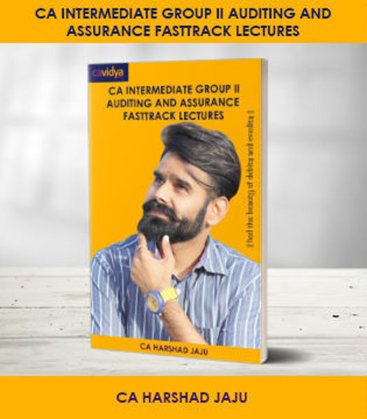 Picture of CA INTERMEDIATE GROUP II AUDITING AND ASSURANCE FASTRACK LECTURES